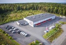 Manufacturing and Production Plant / The modern 4,300 m² factory commissioned in 2008 at the Rusko industrial area in Tampere has been dimensioned so as to suit our manufacturing processes.