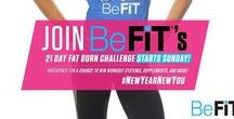 #NewYearNewYou - 21 Day Fat Burn Challenge / Embrace the new year with BeFiT's 21 Day Fat Burn Challenge. Follow along with the full calendar here: http://bit.ly/2hVZ9SH