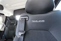 Volkswagen Transporter T6 Tamlans - Disabled Taxi / Stylish and economic Volkswagen Transporter T6 Tamlans is suitable for all transport needs, from transporting schoolchildren to luxury rides or wheelchair carriage. Three equipment levels (Worker, Touring, and Exclusive) are available for the Tamlans. The comprehensive equipment options are full of ingenious details and innovative solutions.