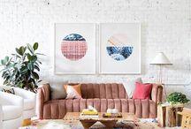I wish you were my living room - Scandinavian design meets California cool