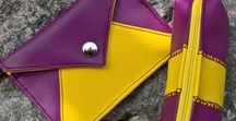 Purple Yellow Purple / Cannot choose between yellow or purple. Let's take both! #Inspiration #Etsyfr #Etsyfinds