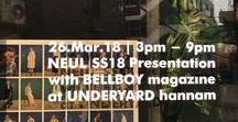 NEUL SS18 Presentation / 26. Mar. 18 Ι NEUL 2018 S/S Presentation 'Flower Market' with Bellboy Magazine at Underyard Hannam