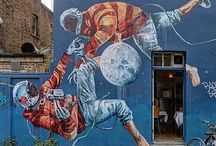 Outside / Street Art / Places to go, street art to see.