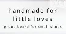For Little Loves / Group board for Small Shop Mamas to pin their baby goods and decor as well as any other baby products we love or recommend! Please only share high quality graphics and images related to baby and mama life, let's keep our board pretty and easy for people to find our products   To join this group board follow me on pinterest and IG @jess.gingrich and send me a message on here and I'll add you!