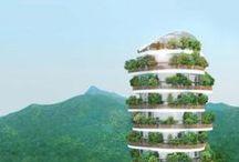 Grün, umweltbewusstes Bauen  / Green, Sustainability
