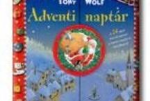 Tél-Ünnep-Adventi mesekönyvek