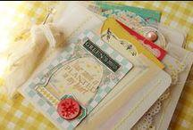 homemade scrapbooks / by Stacey Wilkanoski