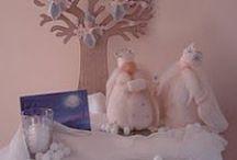 Waldorf-Évszak asztal-Tél