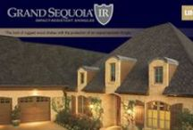 Grand Sequoia IR / The look of rugged wood shakes with the protection of impact-resistant shingles.