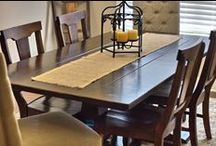 Craftsman Style / James+James Custom Furniture Inspiration for your Craftsman style home that displays the beauty of natural wood, family heritage, and mixed textures.