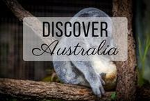 Discover Australia / Discovering the best of Australia travel with things to do, places to visit, and more!