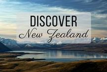 Discover New Zealand / Discovering the best of New Zealand travel with things to do, places to visit, and more!