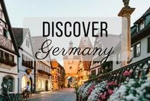 Discover Germany / Discovering the best of Germany travel with things to do, places to visit, and more!