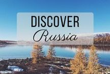 Discover Russia / Discovering the best of Russia travel with things to do, places to visit, and more!