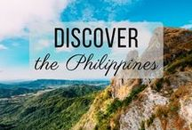 Discover the Philippines / Discovering the best of the Philippines travel with things to do, places to visit, and more!