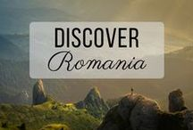 Discover Romania / Discovering the best of Romania travel with things to do, places to visit, and more!