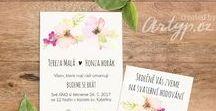 wedding announcement / Wedding announcement.Graphic design. Ideas wedding card  Svatební oznámení, grafický návrh, nápady