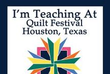 Quilt Festival / This year I'm teaching these great workshops in Houston: 224 The Archeology of Creativity 356 Inspiration Is In the Cards 379 Coloring Books and Beyond 471 Mixed-Media Forum 545 Art on the iPad—Just the Basics 581 Drawing and Painting on the iPad 619 Collage on the iPad 740 Saturday Sampler 750 Christmas Celebrations Forum