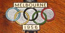 Olympiakisat / Lähinnä appiukkoni Veikko Lahden osallistumista kaksiin Olympiakisoihin ensin Helsingissä vuonna 1952 sekä sitten Melbournessa 1956. Yritän kerätä sellaisia kuvia, joita ei ole julkaistu lehdistössä. Vuosi 1952 kiinnostaa minua varsinkin siksi, että synnyin Olympialaisten ensimmäisenä kilpailupäivänä 20.7.1952.