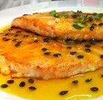 PEIXES / Receitas de peixes variados – salmão, saint peter, camarão, etc