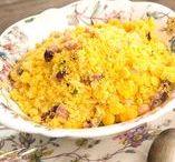 ACOMPANHAMENTOS / Receitas de acompanhamentos para diferentes pratos – arroz, feijão, farofa, pães, etc