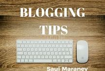 Blogging Tips / How to grow your online business using Blogging. PLUS TIPS ON: how to make money online, make money online, online marketing, digital marketing, affiliate marketing, social media marketing, internet marketing, email marketing, digital marketing, e marketing, web marketing, Saul Maraney