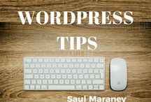 WordPress Tips / How to grow your online business using WordPress. PLUS TIPS ON: how to make money online, make money online, online marketing, digital marketing, affiliate marketing, social media marketing, internet marketing, email marketing, digital marketing, e marketing, web marketing, Saul Maraney