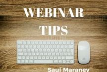 Webinar Tips / How to grow your online business using Webinars. PLUS TIPS ON: how to make money online, make money online, online marketing, digital marketing, affiliate marketing, social media marketing, internet marketing, email marketing, digital marketing, e marketing, web marketing, Saul Maraney