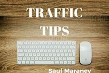 Traffic Tips / How to grow your online business by focusing on Traffic. PLUS TIPS ON: how to make money online, make money online, online marketing, digital marketing, affiliate marketing, social media marketing, internet marketing, email marketing, digital marketing, e marketing, web marketing, Saul Maraney