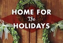 Home for the Holidays / Holiday decor for any home! #christmas #thansgiving #hanukkah #holiday #holidayhome #home #decor / by Earmark Social Bridgette S.B.