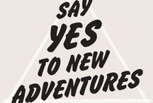 """Adventure Awaits / """"We live in a wonderful world that is full of beauty, charm and adventure. There is no end to the adventures we can have if only we seek them with our eyes open.""""  ― Jawaharlal Nehru #adventureawaits"""