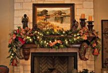 Mantels by Show Me Decorating / Mantels Many Merry Ways for Christmas, Fall, Halloween,  All the Holidays