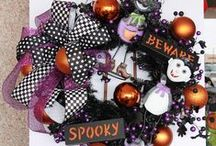 Halloween by Show Me Decorating  / Halloween, Wreathes, Doorways, Whimsical, Spooky, Fun