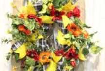 Wreaths by Show Me Decorating / Wreathes for all occasions by the Holiday experts from Show Me Decorating. http://www.showmedecorating.com