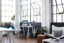 My City Loft / Everyone dreams of living in a big, fun city in a chic and modern loft with sweeping views and tall windows... / by Earmark Social Bridgette S.B.