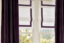 Window Treatments / by Stacey Santos