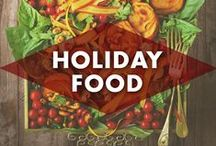 Holiday Food / Holiday party foods that I would love to make. From drinks and desserts to dinners and appetizers! #christmas #thanksgiving #hanukkah #holidayfood #holidays. / by Earmark Social Bridgette S.B.