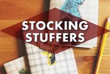 Stocking Stuffers / So many stocking stuffers, so little time! I actually find the stockings to be the best part of the Christmas morning traditions. Sometimes the best things come in the smallest packages! #stockingstuffers #holidays #christmas #gifts / by Earmark Social Bridgette S.B.