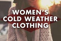 Women's Cold-Weather Clothing / I hate to admit that summer is ending, but I guess at least there is cute cold-weather clothes to look forward too...