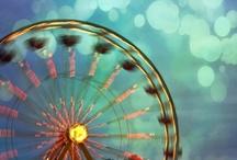 Ferris Wheels / by Grace Simrall