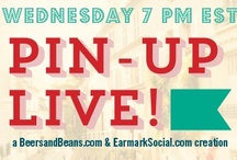 Pin-Up Live! / Welcome to #Pin-UpLive!™ The Original Pinterest Chat. Wednesdays at 7:00 PM est. Come join the fun! This Wednesday we will be chatting with the wonderful OluKai about #anywherealoha! Come on by, grab a mai tai and get your aloha on! / by Earmark Social Bridgette S.B.