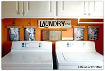 Laundry room decor / by Judy Van Kleef