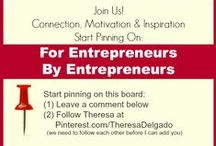 For Entrepreneurs By Entrepreneurs / A community board where entrepreneurs can share tips, tutorials and other insights about creating a business & life they love.