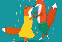 What Does the Fox Say? / Foxy Foxes