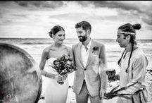 Real Wedding Tulum :Farina & Dan at Casa Violeta / This lovely couple get married at Casa violeta on November 2015 in Tulum. We enjoyed so much their friends and family and the music! Their Dj is amazing! We love to set up the perfect decoration around Casa Violeta is so nice.