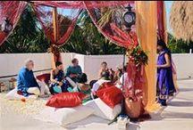 Real Wedding Tulum : Emily & Rishi at Casa Carolina / Emily and Rishi were married on February 12th, 2016 at Casa Carolina in Tulum, Mexico. Their hindu destination wedding was shot by Anna Fishkin (http://everystring.com)