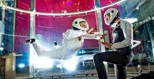 Tuulitunnelilento Indoor skydiving / Ensikertalaislentoa Sirius Sportin tuulitunnelissa First-timers flying at wind tunnel in Sirius Sport