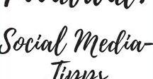 | Social Media Marketing Tipps | / Hier findet Ihr nützliche Tipps rund um das Thema Social Media! ♥