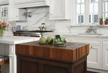 East Coast Traditional / Stunning collaboration of white paint, Carrara marble, and classic details.