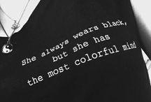 Black things